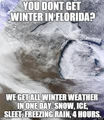 Florida Rain Meme - image tagged in michigan winter imgflip