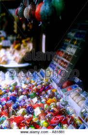 decorated eggs for sale decorated eggs for sale in prague republic stock photo
