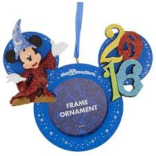 your wdw store disney frame ornament 2016 sorcerer
