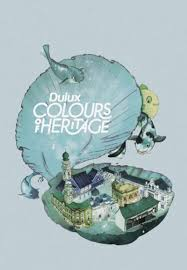 dulux colors of heritage raquel aparicio illustration