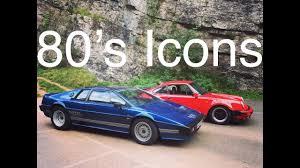porsche 911 turbo 80s 80 u0027s icons lotus esprit turbo and porsche 911 turbo youtube