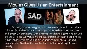 movies as a modern entertainment by intan saylindri