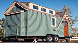 tiny house on wheels gorgeous details bright huge windows small