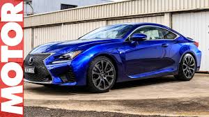 lexus rc f tire size lexus rc f performance car of the year 2016 motor youtube
