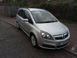 vauxhall zafira 2006 vauxhall zafira 1 6 i 16v club 5dr manual 07445775115 in