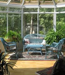 decorating indoor wicker sunroom furniture 7 piece conversation