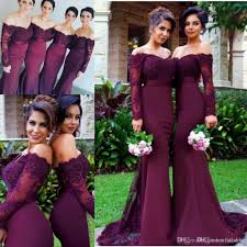 2017 cheap burgundy mermaid bridesmaid dresses sequins off