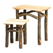 country delight game table u2013 hilltop hickory furniture llc