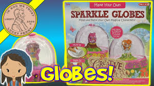 sparkle snow globe making kit for kids crafting time with alyse