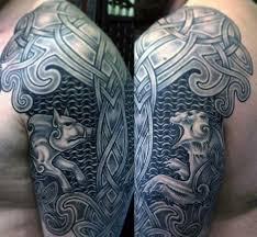 20 celtic bear tattoo designs for men tribal ink ideas