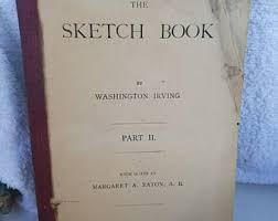the sketch book by washington irving 1921 hardback