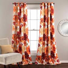 grommet kitchen curtains deconovo christamas sheer panels grommet