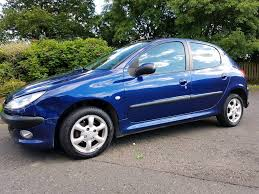 Cheap Car Peugeot 206 With Air Con And 11 Months Mot And In