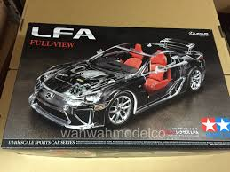 lexus sports car model tamiya 24325 124 lexus lfa full view