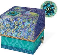 peacock square music box soap punch studio fairyglen com