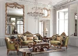 fantastic 6 traditional living room furniture set with large