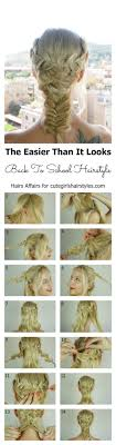 hairstyles for back to school for long hair easy back to school hairstyle cute girls hairstyles