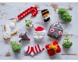 crochet kit ornaments brand yarn