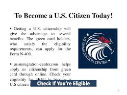 how to become an american citizen