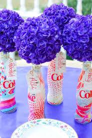 unique centerpieces 3 unique diet coke bottle centerpieces an alli event