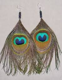 how to make feather earrings with bead jewelry