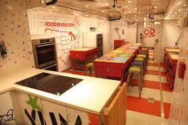 Jamie Oliver Kitchen Design Jamie Oliver Food Truck Rockwell Group Archdaily