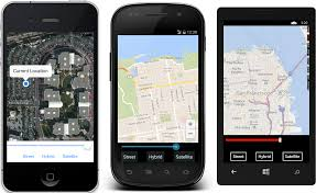 Map A Route Google by Map Xamarin