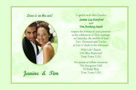 wedding programs wording sles sle invitation designs wedding invitation ideas