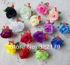 Cheap Fake Flowers Aliexpress Com Buy Wholesale 500x Champagne Silk Rose Heads