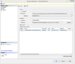 How To Delete A Table In Sql Backup And Restore Sql Database Instance Using A Bak File