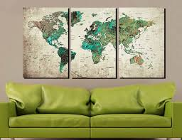 world map abstract world map wall art world map art world map