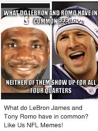 Tony Romo Interception Meme - tony romo both most overrated and underrated qb the debate says