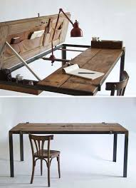 Handmade Office Furniture by Amazing Furniture Made From Found Objects Handmade Charlotte