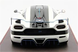 koenigsegg agera rs white 1 18th koenigsegg agera rs1 white