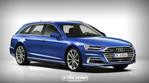 2018 audi a8 avant rendering is pretty much predictable