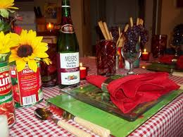 italian themed party italian themed party centerpieces home party theme ideas