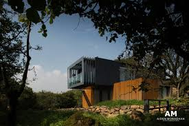 patrick bradleys container home made from 4 metal shipping