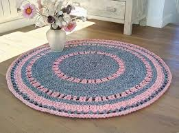 Crochet Rugs With Fabric Strips 46 Best Crochet Rugs Chair Pads Blankets Baskets Images On