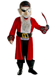 Halloween Mascot Costumes Pirate Mascot Costume Halloween Mascot Costumes