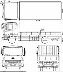 outline art vehicle s mural stuff set van trailer stock vector s