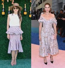 Keri Russell Vanity Fair Best And Worst Dressed Of The Week Keri Russell Amanda Peet La