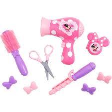bowtique hair bows minnie mouse bow tique hairstylist play set walmart