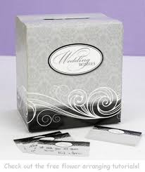 wedding gift card ideas wedding gift card box