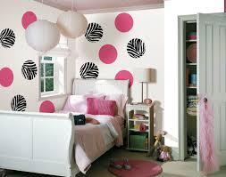 Black And White Zebra Print Bedroom Ideas Cute Pink And Zebra Print Dots On Beige Wall Plus Beige Lampions