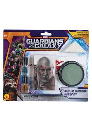spirit halloween bald cap drax the destroyer makeup kit