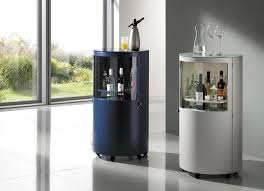 Contemporary Bar Cabinet Contemporary Bar Cabinet Lacquered Wood White Strech Die