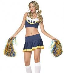 Dallas Cowboys Cheerleaders Halloween Costume Buy Wholesale Blue Cheerleader Costume China Blue