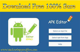free apk free apk editor pro new version android apk 100 working
