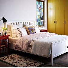 Ikea Hemnes Bed Frame Wood Hemnes Full Bed Frame Ikea White Shopbedroom Net