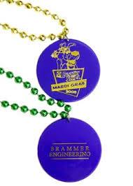 customized mardi gras custom mardi gras fancy necklaces personalized medallions